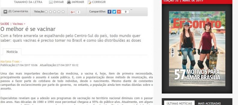 💻 REVISTA ENCONTRO BRASÍLIA | HOSPITAL SANTA LÚCIA