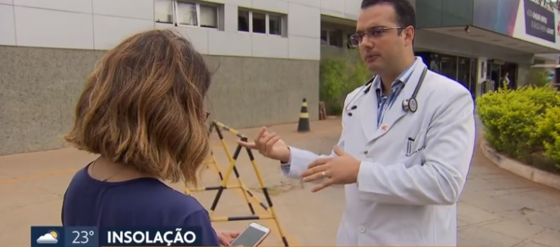 📺 TV GLOBO | HOSPITAL SANTA LÚCIA NORTE