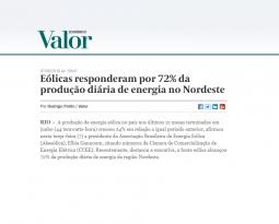 💻 VALOR  ECONÔMICO | BRAZIL WINDPOWER
