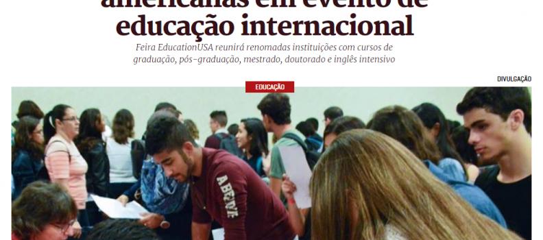 📚 METRÓPOLES | FEIRA EDUCATIONUSA | CASA THOMAS JEFFERSON